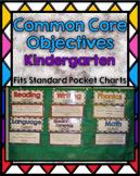 Kindergarten Common Core Objectives