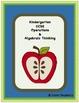 Kindergarten Common Core Planning Template and Organizer Package