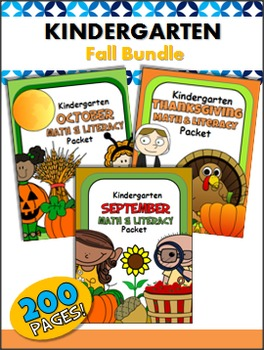 Kindergarten Common Core Printables - 686 Pages