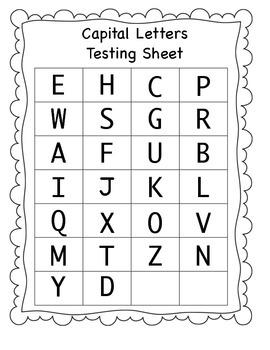 Kindergarten Common Core Progress Monitoring Data Collection Sheets