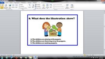 Kindergarten - Common Core RI.K.7 - Illustrations Show and Tell