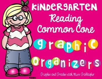 Reading Literature and Informational Text Graphic Organizers-Kindergarten