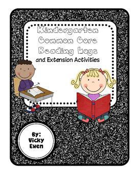 Kindergarten Common Core Reading Logs