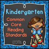 Kindergarten Common Core Reading Standards