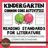 Literature Activities: Kindergarten Reading - CCSS