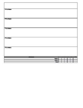 Kindergarten Common Core Report Card *EDITABLE VERSION*