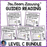Boom Cards Distance Learning Kindergarten Guided Reading Comprehension Level C