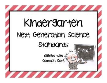 FULL Kindergarten Next Generation Science Posters (Common