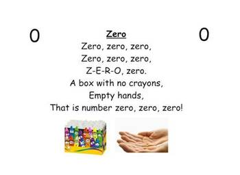 Kindergarten Common Core Shared Reading Charts - Color & Number Words - Nursery