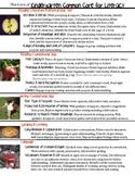 Kindergarten Common Core Sheet for Parents and Binder