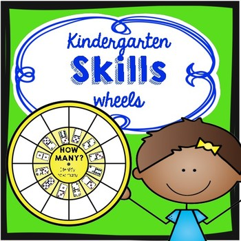 #presidentialdollardeals Kindergarten Common Core Skills Wheels