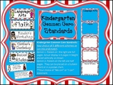 Kindergarten Common Core Standard Posters: Wacky