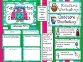 Kindergarten Common Core Standard Posters:  OWL Theme