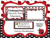 Kindergarten Common Core Standard Posters: LADYBUG