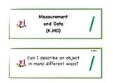 Kindergarten Common Core Standard Signs for Students in Math
