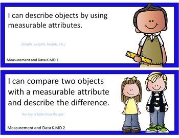 K Common Core posters - EDITABLE - PowerPoint, ELA, Math, Science, Soc Studies