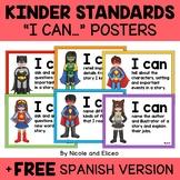 Kindergarten Common Core Standards I Can Posters