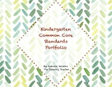 Kindergarten Common Core Standards Portfolio