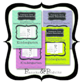 Kindergarten Common Core State Standard Math Assessment Kit