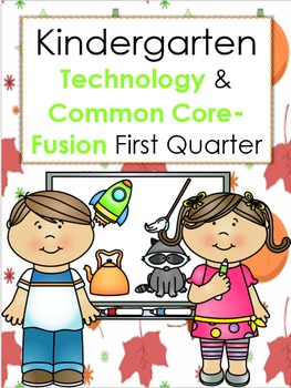 Fall Math, Literacy, and Science Packet with Technology Integrated- Kindergarten