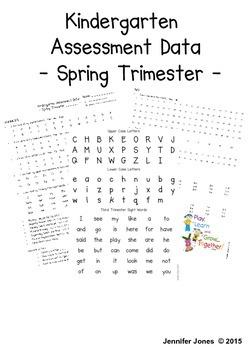 Kindergarten Common Core Third Trimester Student Progress Report