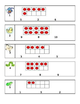 Kindergarten Common Core Unit 2 Math Test