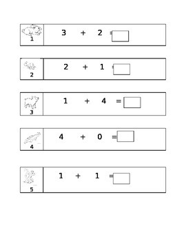Kindergarten Common Core Unit 7 Math Test