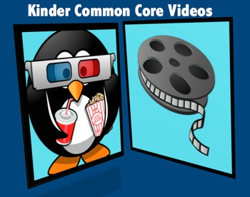Kindergarten Common Core Videos: One video link (or more) for every standard