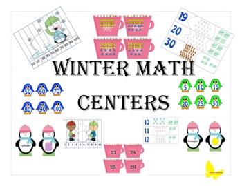 Kindergarten Common Core Winter Literacy and Math Centers