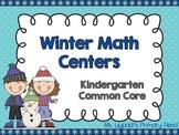 Winter Math Centers and Activities for Kindergarten