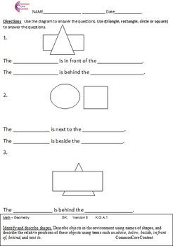 kindergarten common core math worksheets geometry all  originaljpg