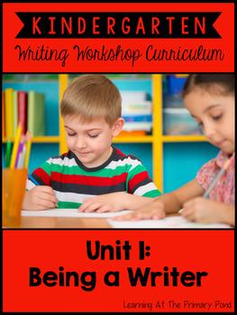 Kindergarten Writing Workshop Introduction Unit {Kinder Writing Workshop Unit 1}
