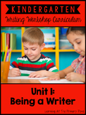 Kindergarten Writing Workshop Introduction Unit {Kinder Writing Workshop Unit 1}