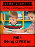 Kindergarten Writing Workshop Introduction Unit {Kinder Wr