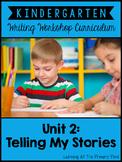Personal Narrative Writing Lessons for Kindergarten {K Wri