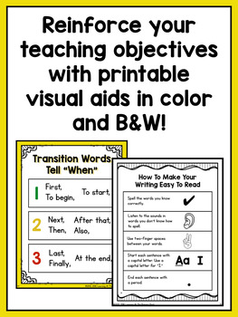Kindergarten How-To Writing Lessons {Kinder Writing Workshop Unit 4}