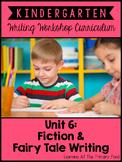 Fiction Writing Lessons for Kindergarten {Kinder Writing Workshop Unit 6}