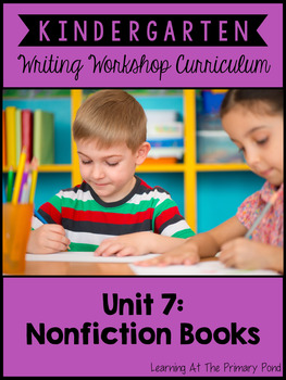 Kindergarten Nonfiction Writing Lessons {Kinder Writing Wo