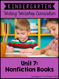 Nonfiction Writing Lessons for Kindergarten {Kinder Writing Workshop Unit 7}
