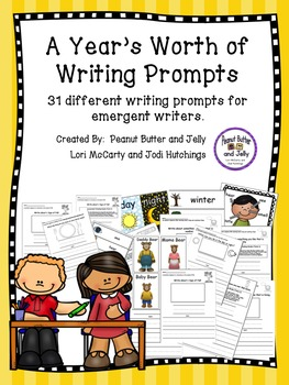 A Year of Daily Writing Prompts for young writers - common