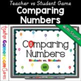 Kindergarten - Comparing Number Balloon Powerpoint Game