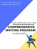 Reading Writing Phonics Social Studies Kindergarten Common Core Writing Lady