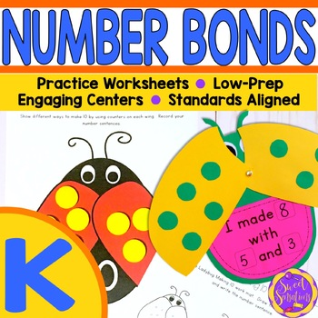 Kindergarten Composing and Decomposing Numbers Bundle! (K.