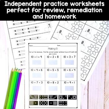 Kindergarten Composing and Decomposing Numbers to 10 (K.OA.3; K.OA.4)