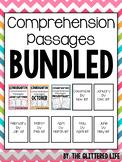 Kindergarten Comprehension Passages The Bundle