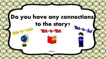 Kindergarten Comprehension Prompts