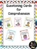 Kindergarten Comprehension Questions Cards