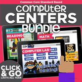 Kindergarten Computer Centers Bundle   Common Core Reading & Math Standards