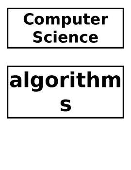 Kindergarten Computer Science Curriculum -FULL YEAR EDITABLE