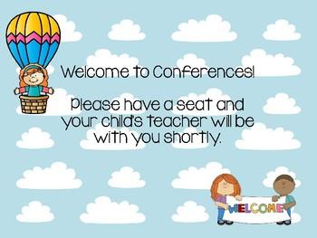 Kindergarten Conference Documents